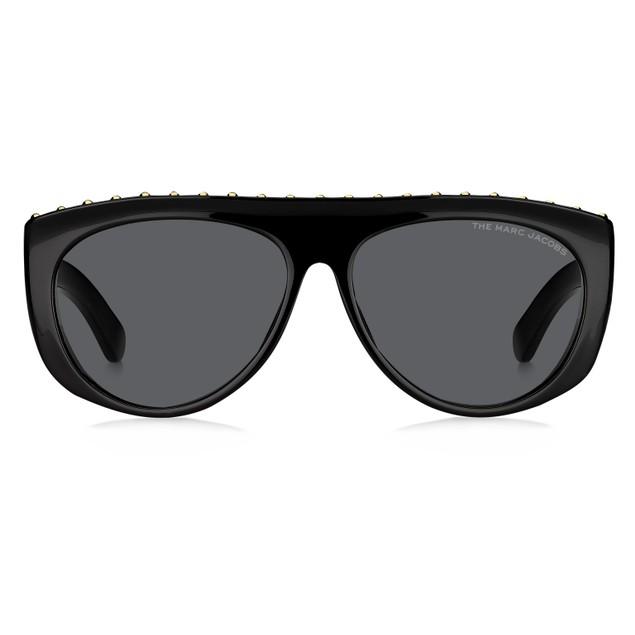Marc Jacobs Women Sunglasses MARC492S 807 Black 15 145  Rectangle  57 15 145