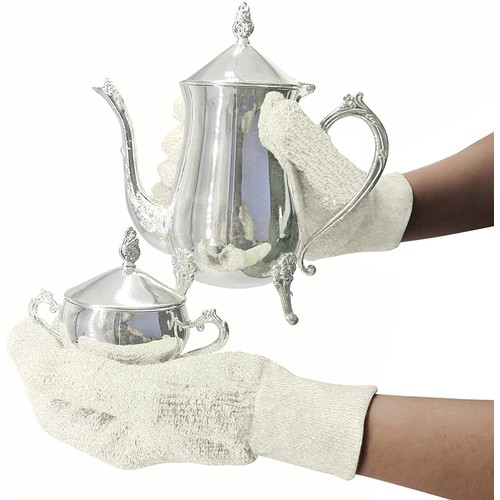EvridWear Sterling Silver Polishing Cleaning Gloves