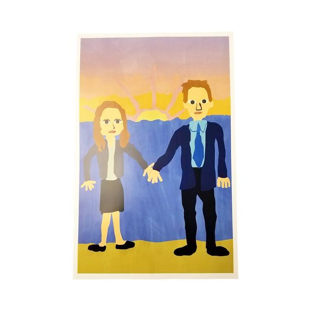 Michael Scott's Painting Jim And Pam Wedding Poster 18 x 24