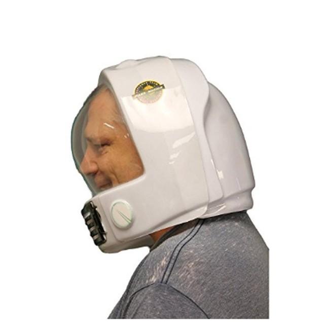 Plastic Astronaut Helmet (2 Parts Front And Back)