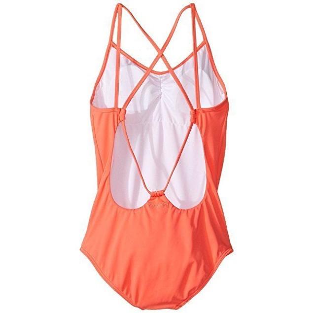 Billabong Girls Sol Searcher One Piece Swimwear Tropical Punch SZ 12