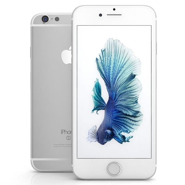 """Apple iPhone 6S 128GB 4.7"""" 4G LTE,Silver(Certified Refurbished)"""