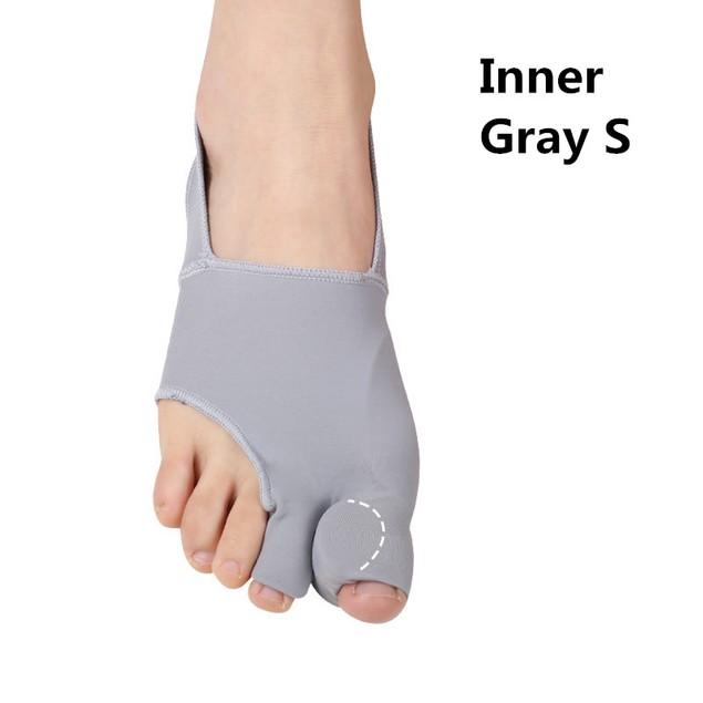 Unisex Double Toe Foot Guard, Thumb Valgus Toe Orthosis