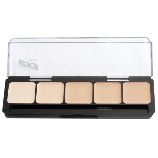 Warm Palette #1 HD Glamour Creme Foundation Palette