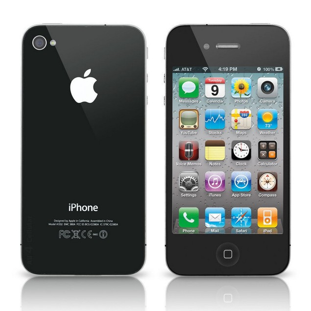 Apple iPhone 4s, AT&T, Black, 16 GB, 3.5 in Screen