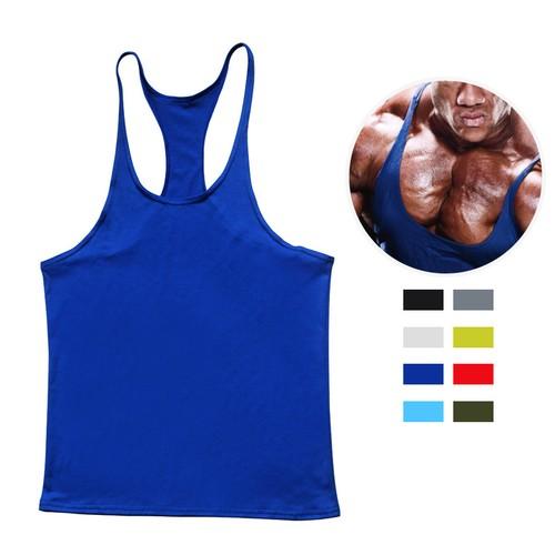 Men's Curled Up Sports And Bodybuilding Racer Vest