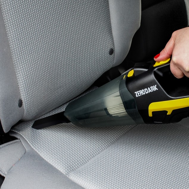 ZeroDark High-Powered Portable Vacuum Cleaner with Attachments