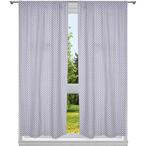 Caspian 100% Cotton Window Curtain Set