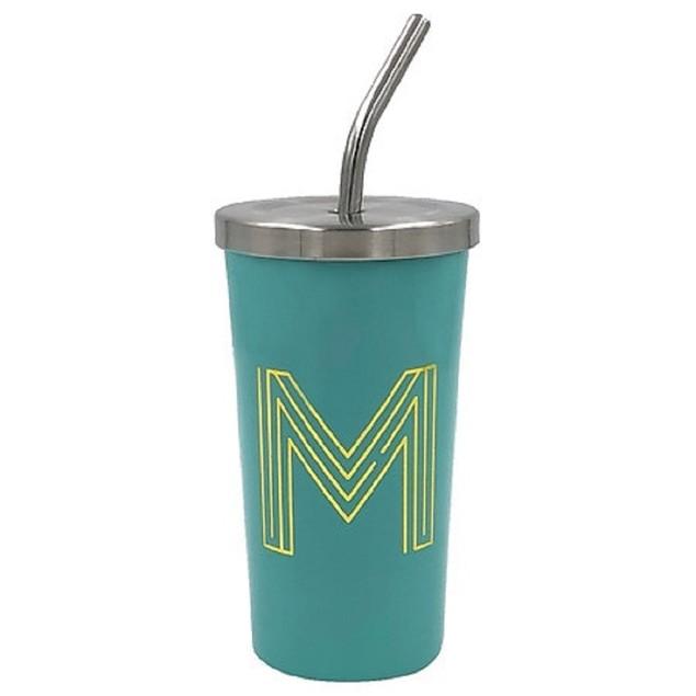 "Modern Expressions Monogrammed Steel Tumbler Assortment ""M"""