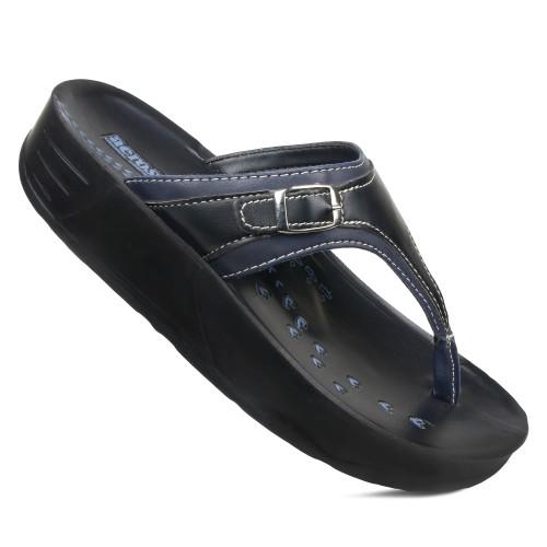 AEROSOFT Joana Open Toe Summer Comfortable Arch Support Platform Sandals for Women