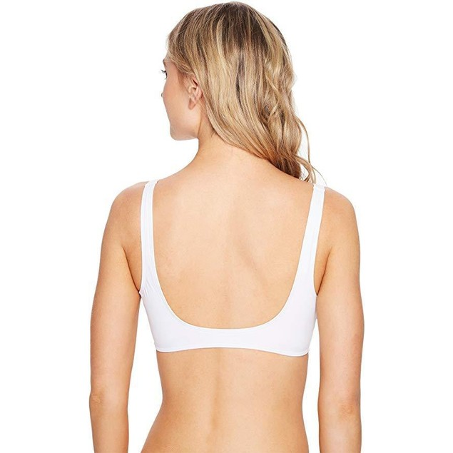 LSpace Women's LSolids Classic Bikini Top White Sz XS