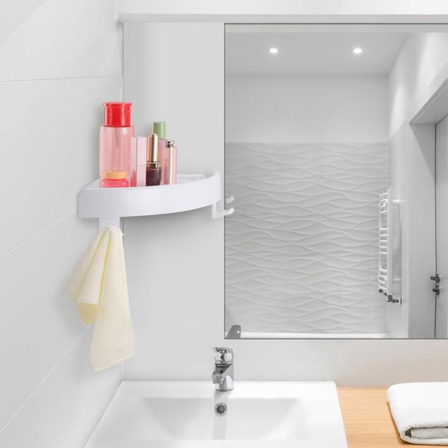 Bathroom Corner Storage Rack Triangular Shower Shelf