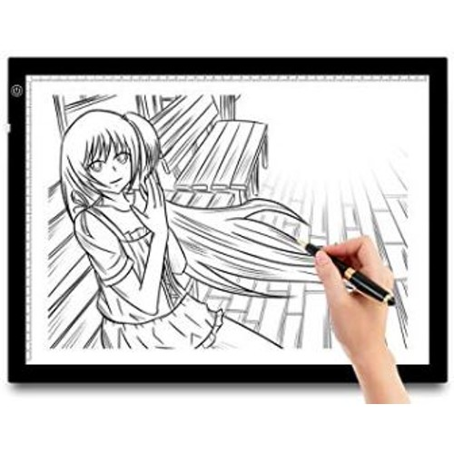 """A3 LED Tracing Light Pad 21"""" Inch Screen Dimmable Brightness Artist Draw"""