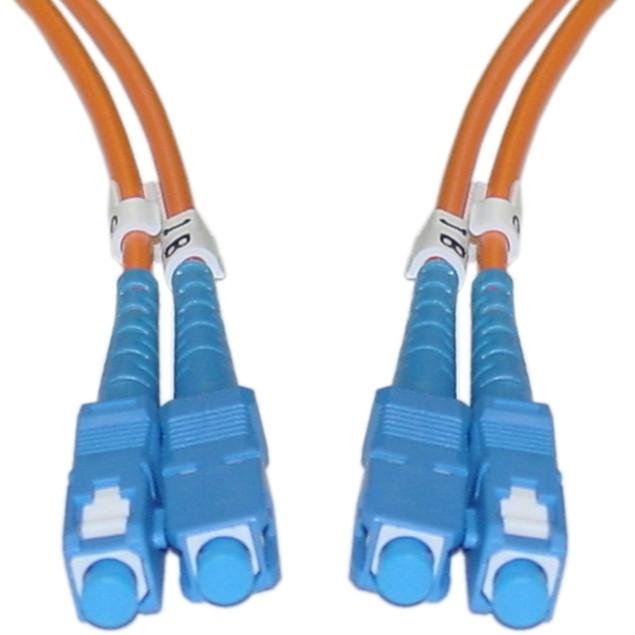 Fiber Optic Cable, SC / SC, Multimode, (16.5 foot)