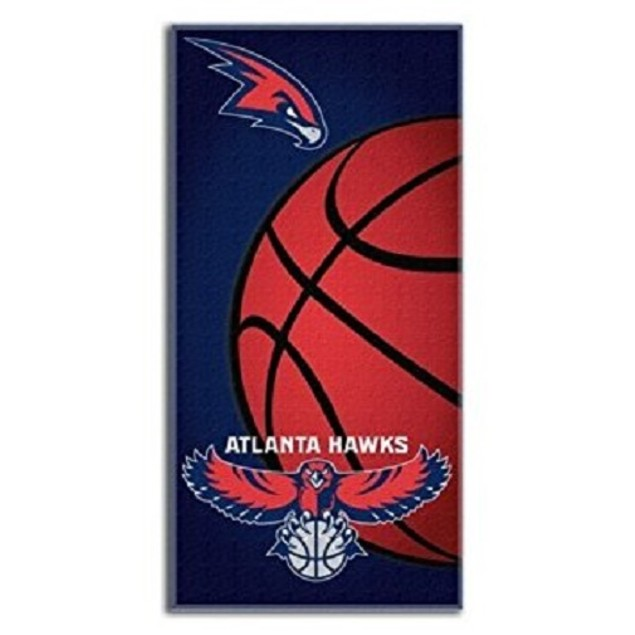 Atlanta Hawks NBA Northwest Beach Bath Towel