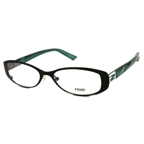 Fendi Women Eyeglasses FF899 027 Gunmetal 50 16 140 Full Rim Oval