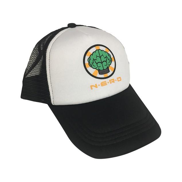 NERD Trucker Hat Black