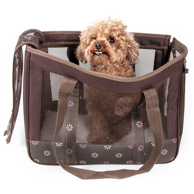 Surround View' Posh Fashion Pet Carrier