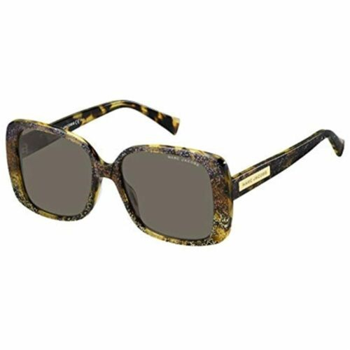 Marc Jacobs Women  Sunglasses 423 /S 0WTP Havana Glitter Animalier /Gray