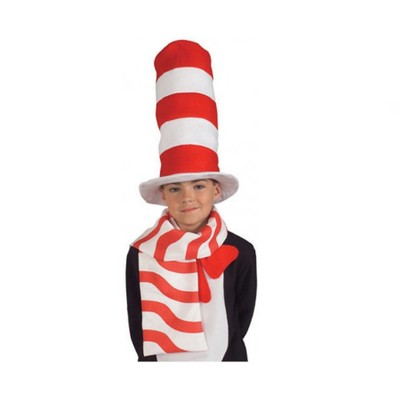 The Cat In The Hat Striped Scarf