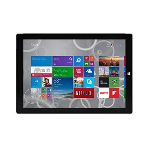 "Microsoft Surface Pro 3 128GB Intel Core i5-4300U 12"" Touch,Silver"