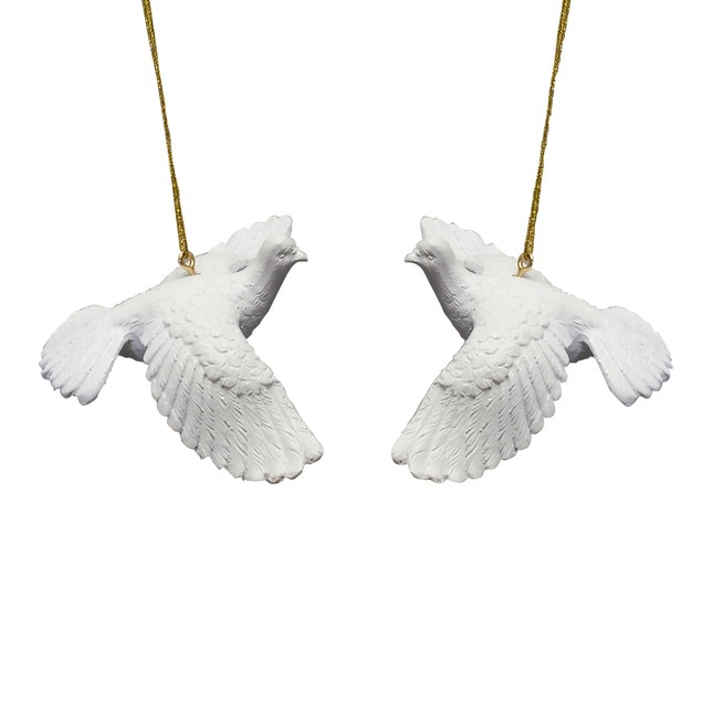 Two Turtle Doves Ornaments from Home Alone 2
