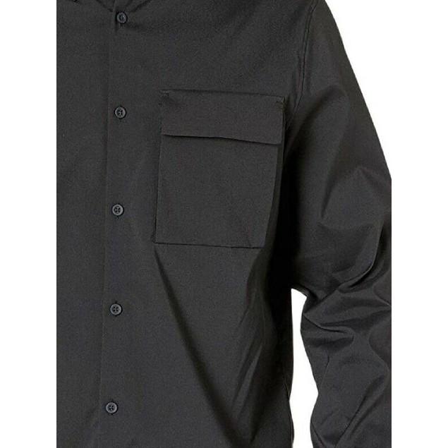 Calvin Klein Men's Utility Shirt Charcoal Size Medium