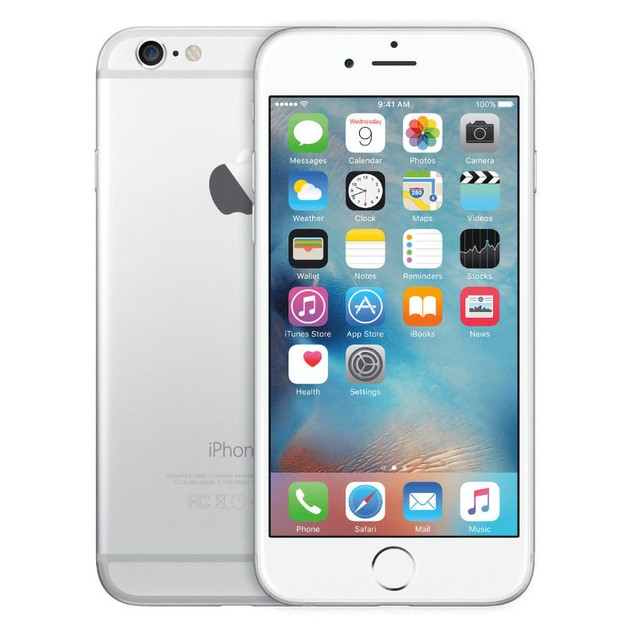 Apple iPhone 6 Plus 64GB Verizon GSM Unlocked T-Mobile AT&T 4G LTE Smartphone - Silver - A Grade