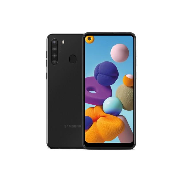 Samsung Galaxy A21 (2020), Metro, Black, ,  Screen