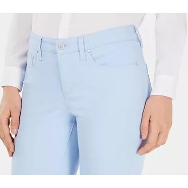 Charter Club Women's Petite Cropped Jeans Turq/Aqua Size 8