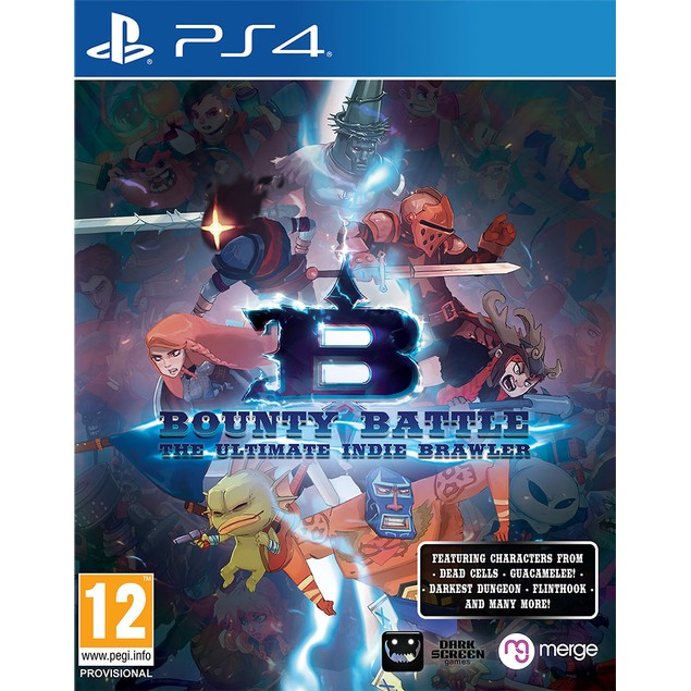 Bounty Battle The Ultimate Indie Brawler PS4 Game