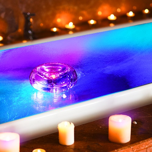 2-Pack Hearth & Haven Color Changing Floating LED Light