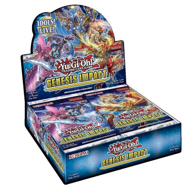 Yu-Gi-Oh! TCG Genesis Impact Booster Box (24 Packs)