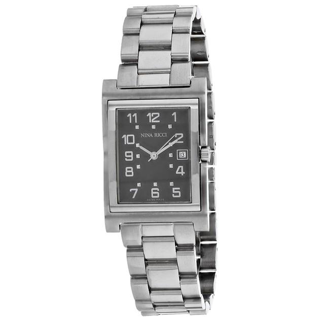 Nina Ricci Women's Classic Grey Dial Watch - 12330