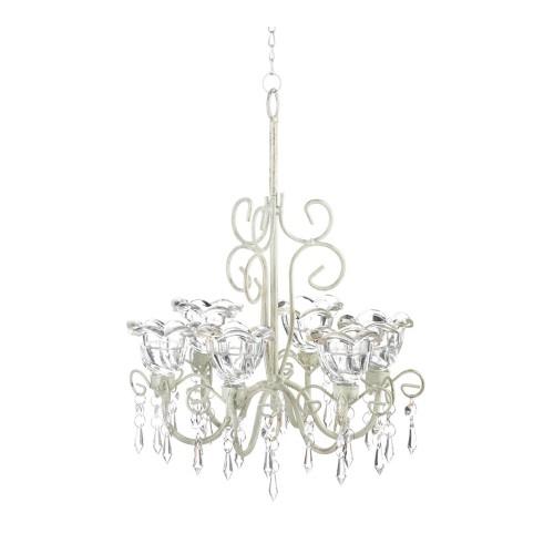 Koehler Home Decor Crystal Blooms Candle Chandelier