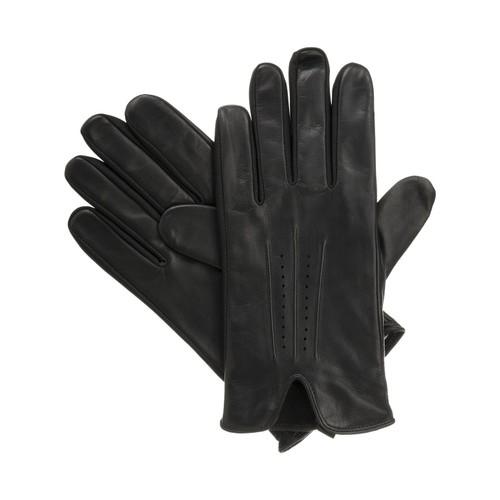 Isotoner Signature  Men's Stretch Gloves Black Size  Medium