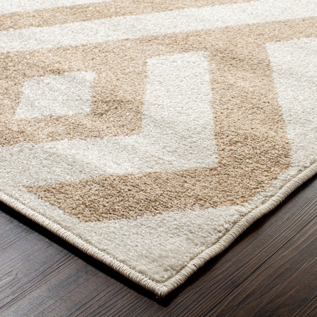 Banko Modern Diamond Geometric Indoor Area Rug