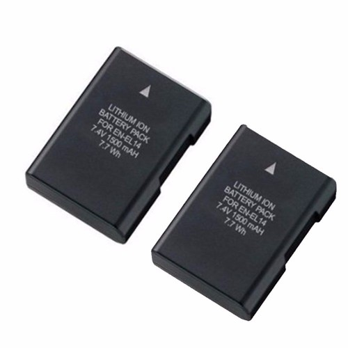 EN-EL14 Replacement Rechargeable Li-ion Battery f/ Nikon D3100 D3200 D5100 D5300