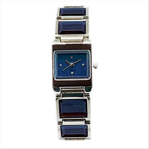 Charles Delon Women's Watches 3654 LPLL Silver/Blue/Silver Stainless Steel Quartz