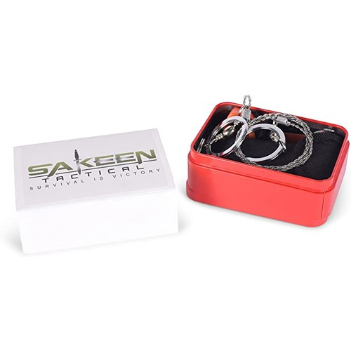 Sakeen Tactical SOS101 Survival Kit For Hunting and Emergencies