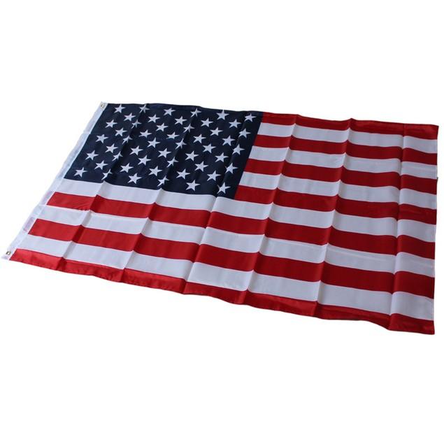 2-Pack 90×150cm American Flag Polyester