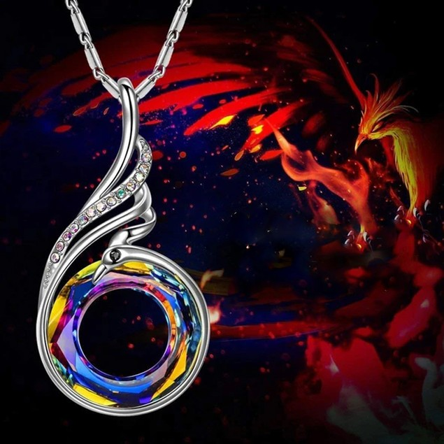 Rebirth Fire Powerful Vibrant Necklace