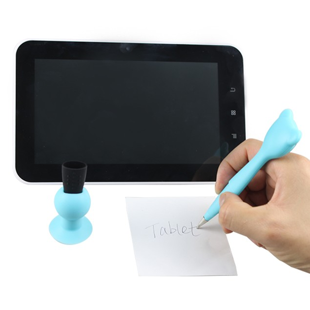 Stylus & ball touch Pen for iPad iPhone and all touchscreens tablet-blue