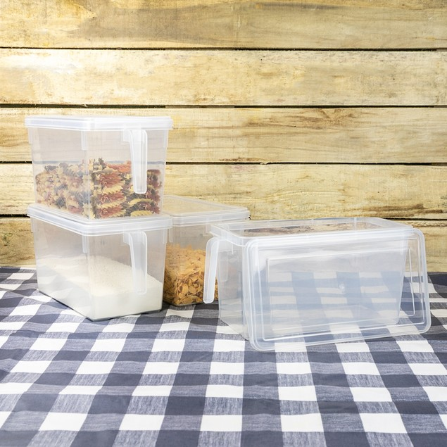 Plastic Food Preserving Containers - Set of 4 | Pukkr