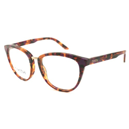 Smith Women Eyeglasses Ambrey TL4 Violet Havana 52 18 135 Cat Eye