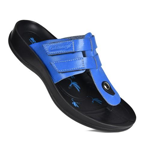 AEROSOFT Morphis T-Strap Comfortable Thong Summer Sandals for Women