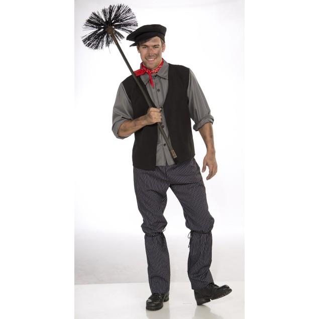 Chimney Sweep Costume Bert Mary Poppins Disney Fancy Dick Van Dyke Adult