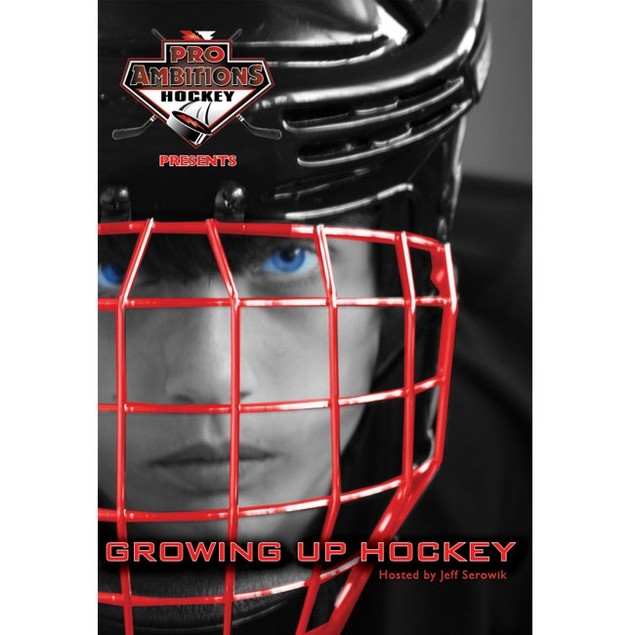 Proambitions Growing Up Fun Play Hockey Dvd Hosted By Jeff Serowik