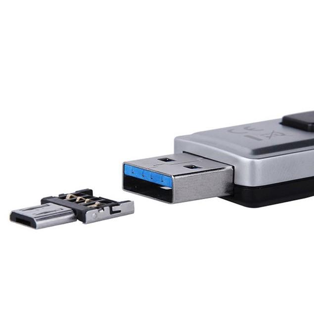 Mini USB 2.0 Micro USB OTG Converter Adapter Cellphone TO US