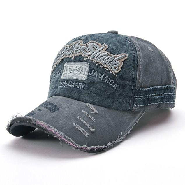Fashion Old Worn-out Baseball Caps Men's Hats Couple Sun Hats